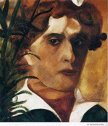 автопортретMarc_Chagall_(selfportrait_1914)