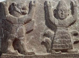 Бог Атлант с львиной головой 10-9 вв до н.э.