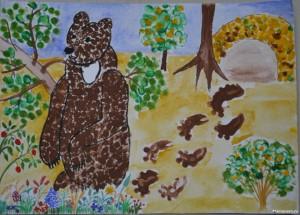 Мишка косолапый по лесу идет4