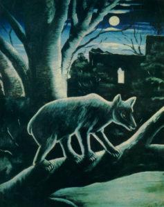Рис.11.2 НикоПиросмани Медведь в лунном свете 1914