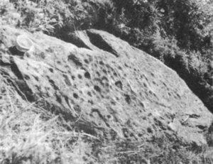 Рис.16 Камень из аула Лац Осетия