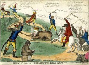 Рис.25 Карикатура Екатерина II1791 Англия