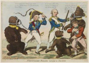 Рис.26 Карикатура Павел I 1798