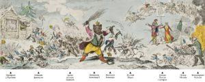 Рис.27 Карикатура Александр 1 1812 Англия
