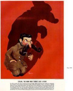 Рис.30 Карикатура Иосиф Сталин 1938 США