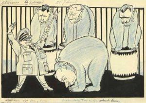Рис.33 Карикатура Никита Хрущев 1955 Голландия