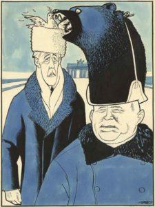 Рис.34 Карикатура Никита Хрущев 1959 Голландия