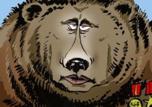 Рис.40 Карикатура Владимир Путин 2011 Литва