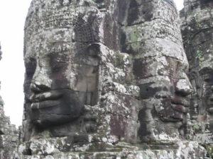 Четырехликие башни храма Байон. Камбоджия