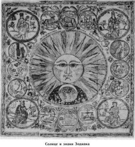 Рис.2 Древний календарь